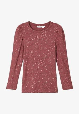 NIT - Long sleeved top - wild ginger
