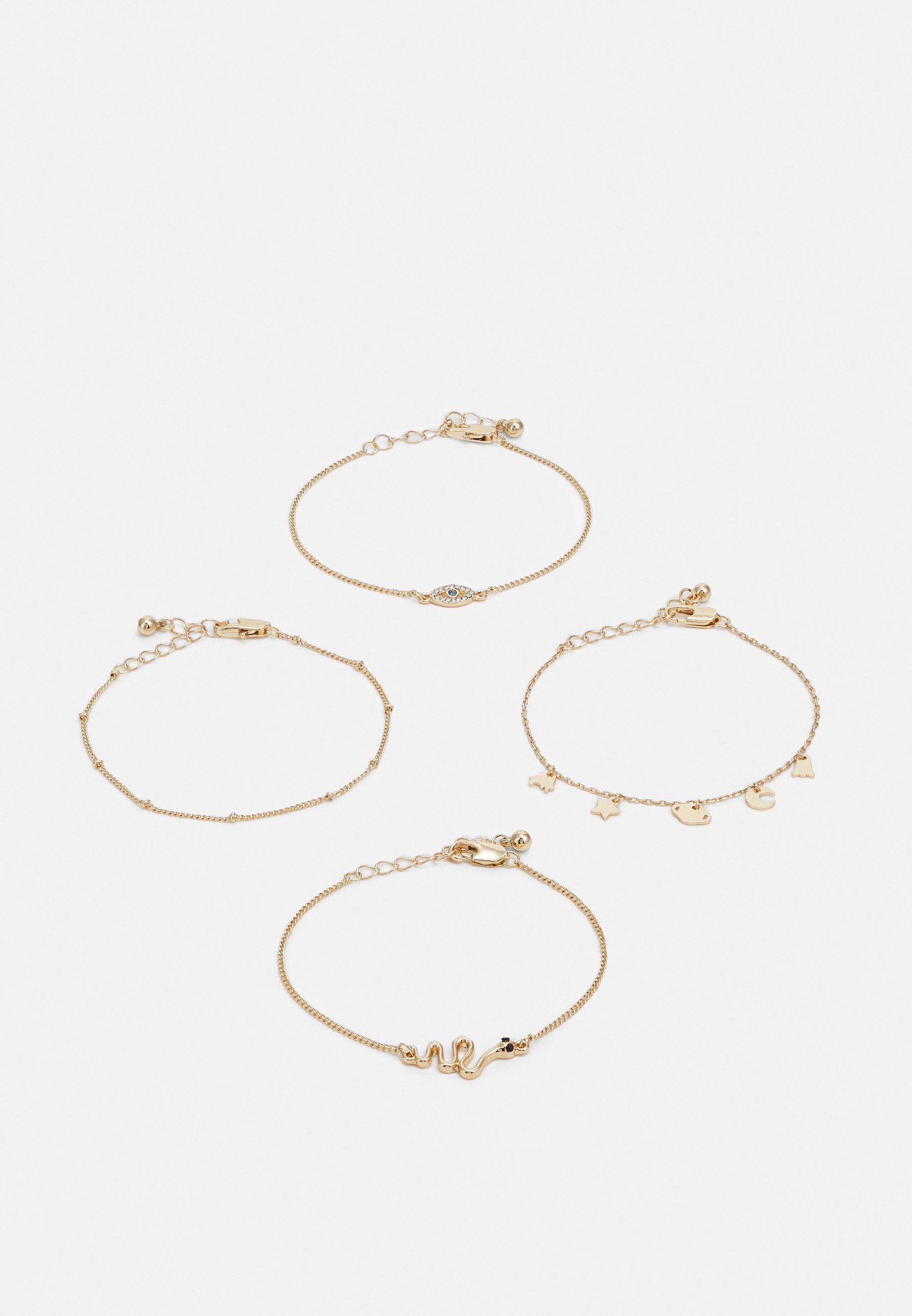 Femme PCLIMO BRACELET KEY BRACELET 4 PACK - Bracelet