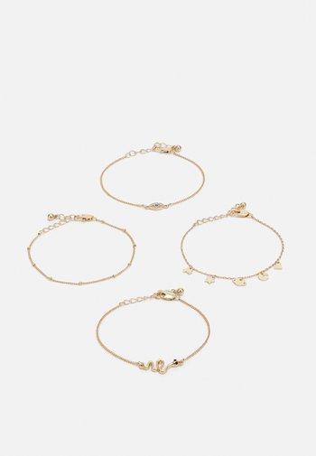 PCLIMO BRACELET KEY BRACELET 4 PACK - Bracelet - gold-coloured
