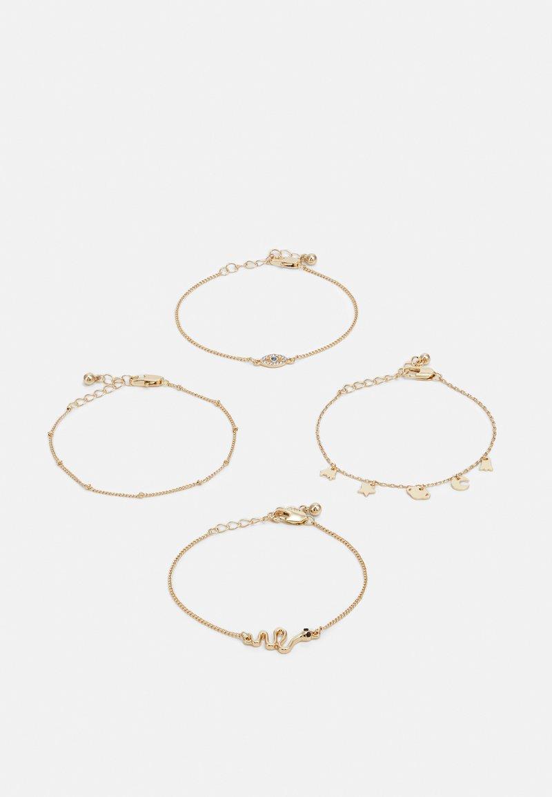 Pieces - PCLIMO BRACELET KEY BRACELET 4 PACK - Bracelet - gold-coloured