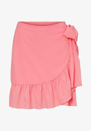 A-lijn rok - geranium pink