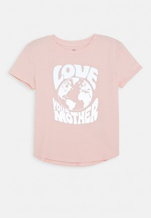 GIRL INTERACTIVE - Print T-shirt - misty rose