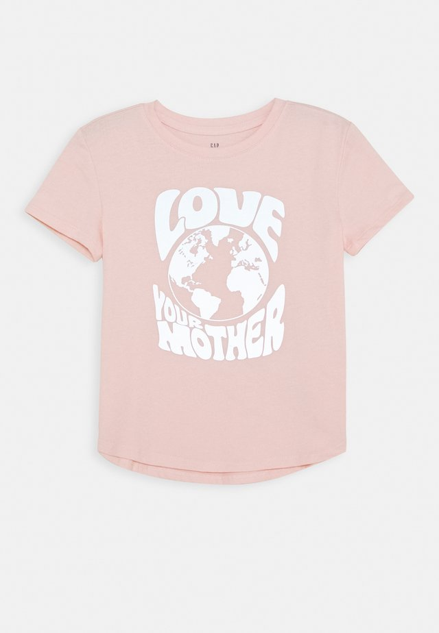 GIRL INTERACTIVE - T-shirt med print - misty rose