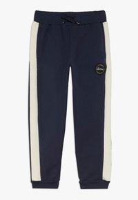 Lil'Boo - BLOCK - Pantalon de survêtement - navy/cream - 0