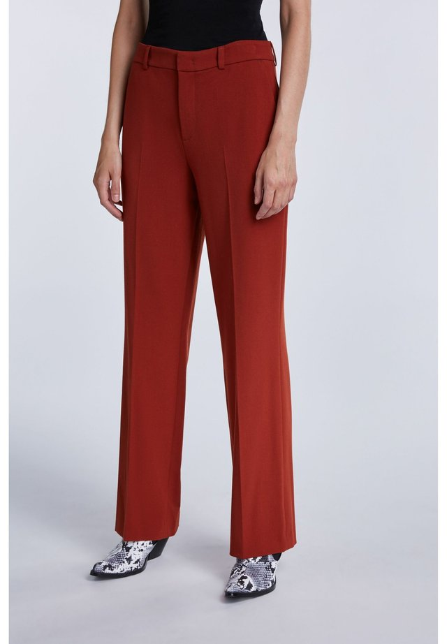 Trousers - maroon