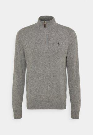 LONG SLEEVE - Stickad tröja - fawn grey heather