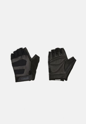 EXERCISE GLOVE MULTI UNISEX - Fingerless gloves - black