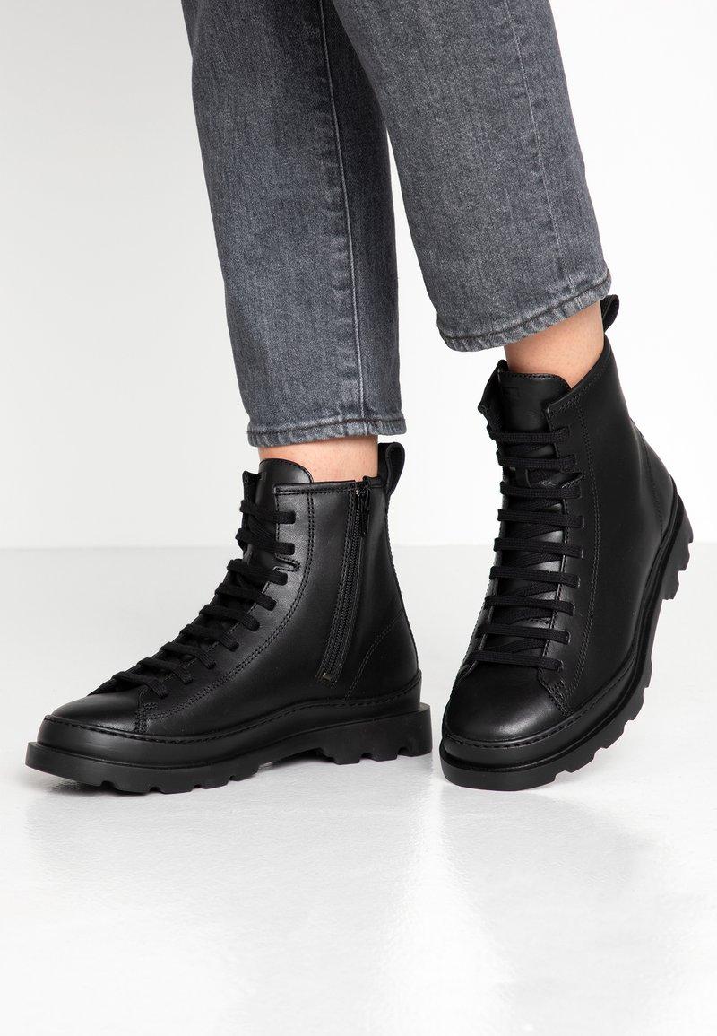 Camper - BRUTUS - Lace-up ankle boots - black