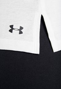 Under Armour - GRAPHIC BOX SCRIPT MUSCLE TANK - Sports shirt - onyx white/black - 5