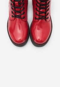 TOM TAILOR - Lace-up ankle boots - fire - 5