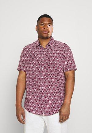 JAVA PRINT SHIRT - Overhemd - burgundy