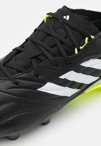adidas Performance - COPA SENSE.2 FG - Moulded stud football boots - core black/footwear white/solar yellow - 5