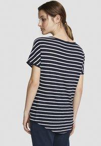 North Sails - Print T-shirt - dark blue - 1