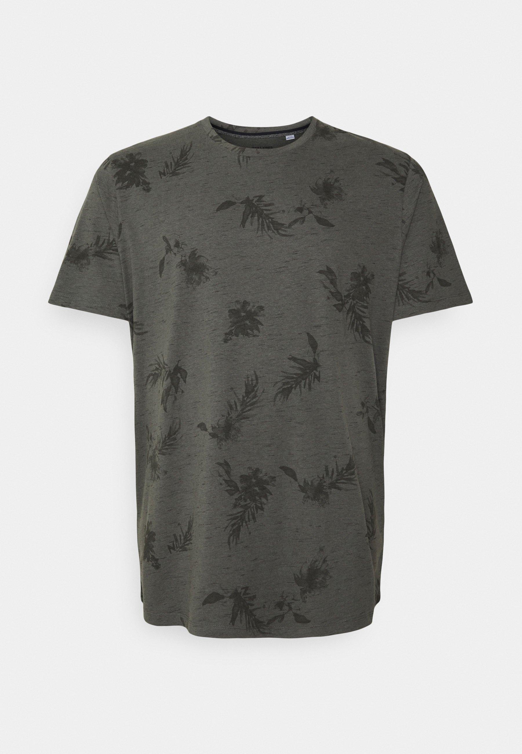 Men JORCALI TEE CREW NECK - Print T-shirt