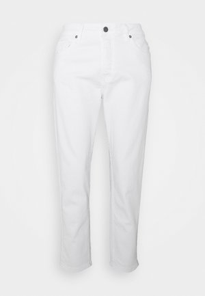 ONSAVI BEAM TAP CROP - Trousers - white denim