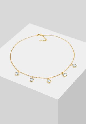 GLASS CRYSTAL - Collier - gold-coloured