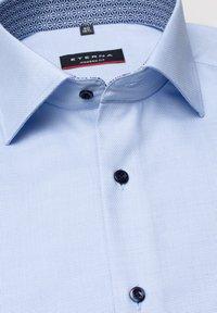 Eterna - MODERN FIT - Shirt - light blue - 5