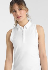 Under Armour - ZINGER - Sports shirt - white - 3