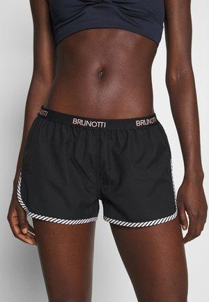 AULANI QUICK DRY WOMEN - Swimming shorts - black