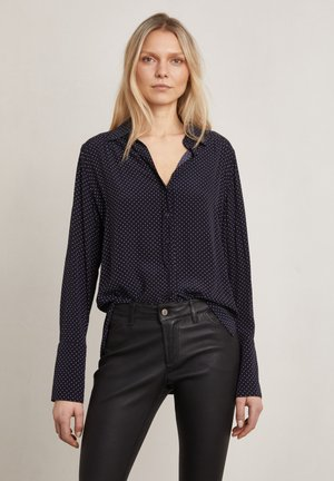 FORD - Button-down blouse - true navy aop