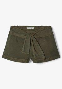 Name it - Denim shorts - ivy green - 1