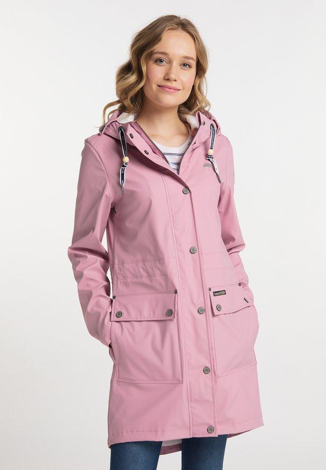 Vodotěsná bunda - candy pink
