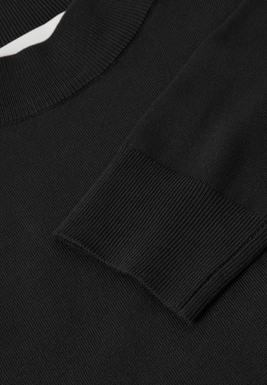 InWear Strickkleid black/schwarz
