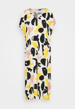 APRIL DRESS - Vestido largo - white dusty