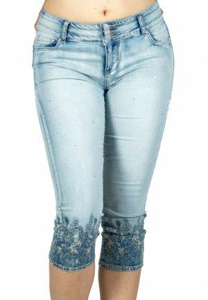 Shorts vaqueros - azul medio