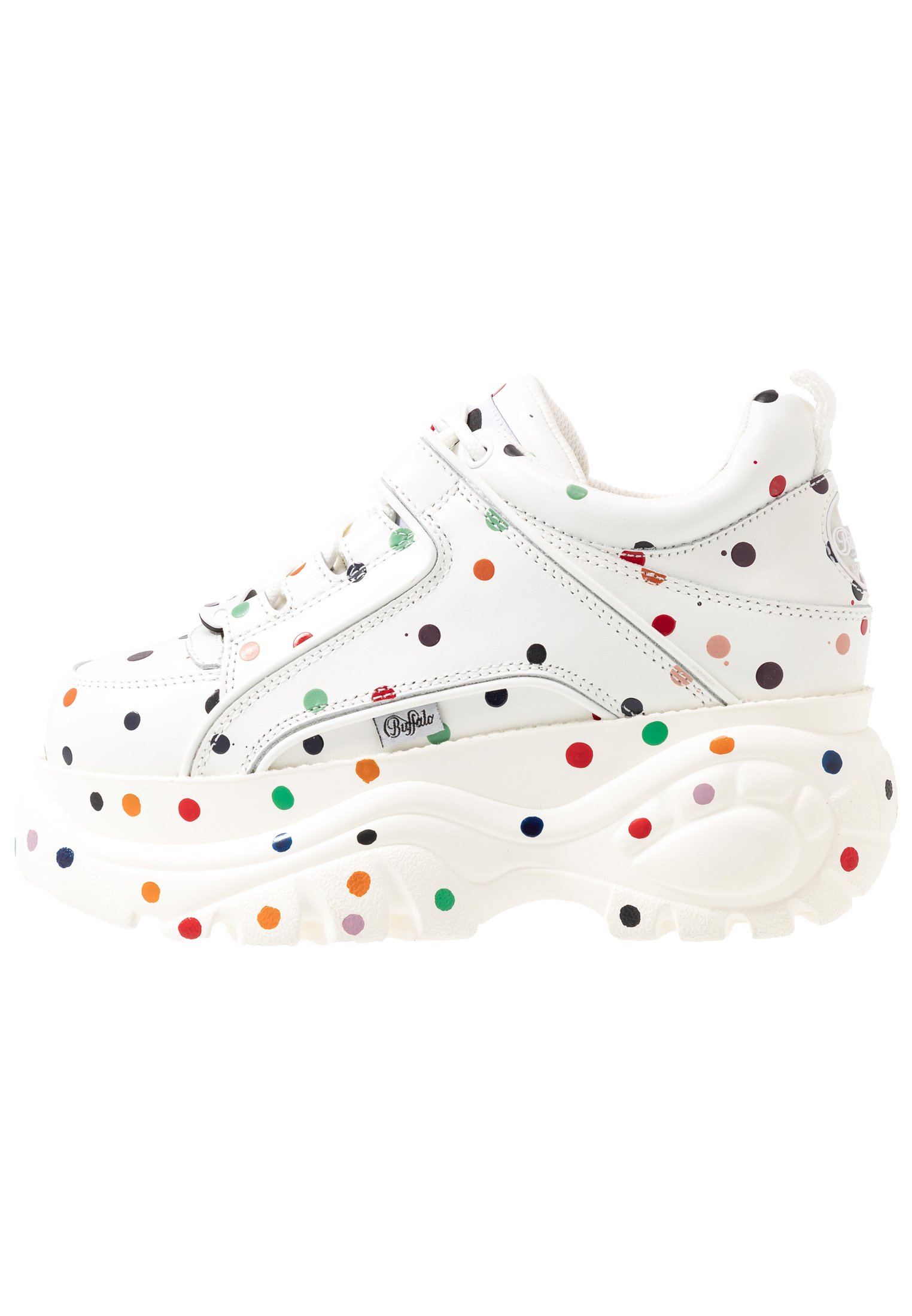 Buffalo London Joggesko white multicolor Zalando.no