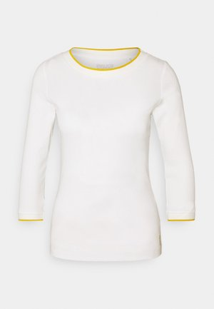 SOLID TEE - Long sleeved top - off-white