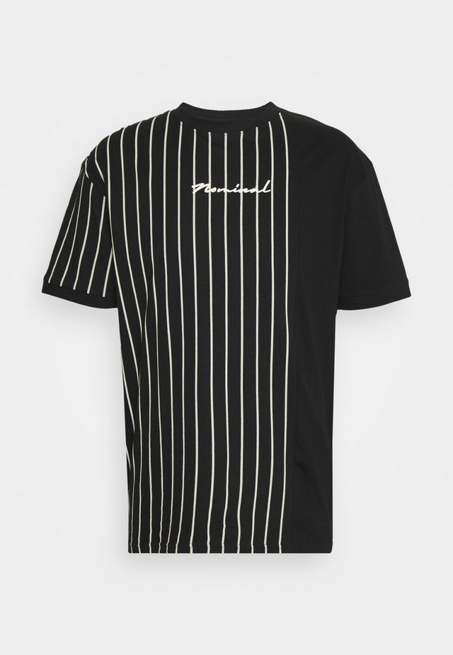 STRIPE - T-shirt print - black