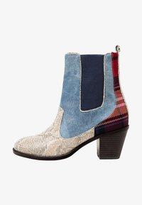 Desigual - Classic ankle boots - blue - 1