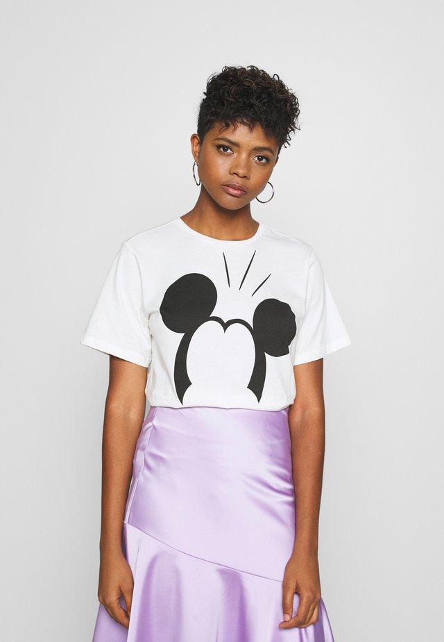 JDYMOLLY LIFE  - T-shirt z nadrukiem - cloud dancer