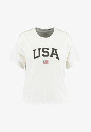USA - Print T-shirt - white