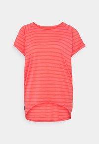 Icebreaker - ELOWEN CREWE - Print T-shirt - pink - 3