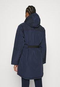 Hunter ORIGINAL - WOMENS ORIGINAL INSULATED - Zimní kabát - navy - 2