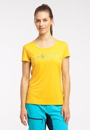 Sports shirt - pumpkin yellow