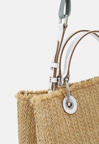 Emporio Armani - CAPSULE MYEABORSA SHOPPING - Handbag - natural/white - 5