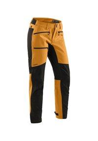 Haglöfs - RUGGED FLEX PANT - Outdoor trousers - desert yellow/true black - 2