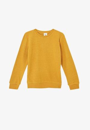 REGULAR FIT - Collegepaita - yellow