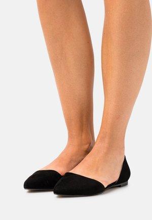 LEATHER - Ballet pumps - black