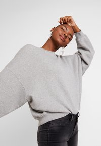 American Vintage - KINOUBA - Sweatshirts - heather grey - 4