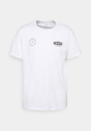 BOXTAB GRAPHIC TEE - T-shirts print - white