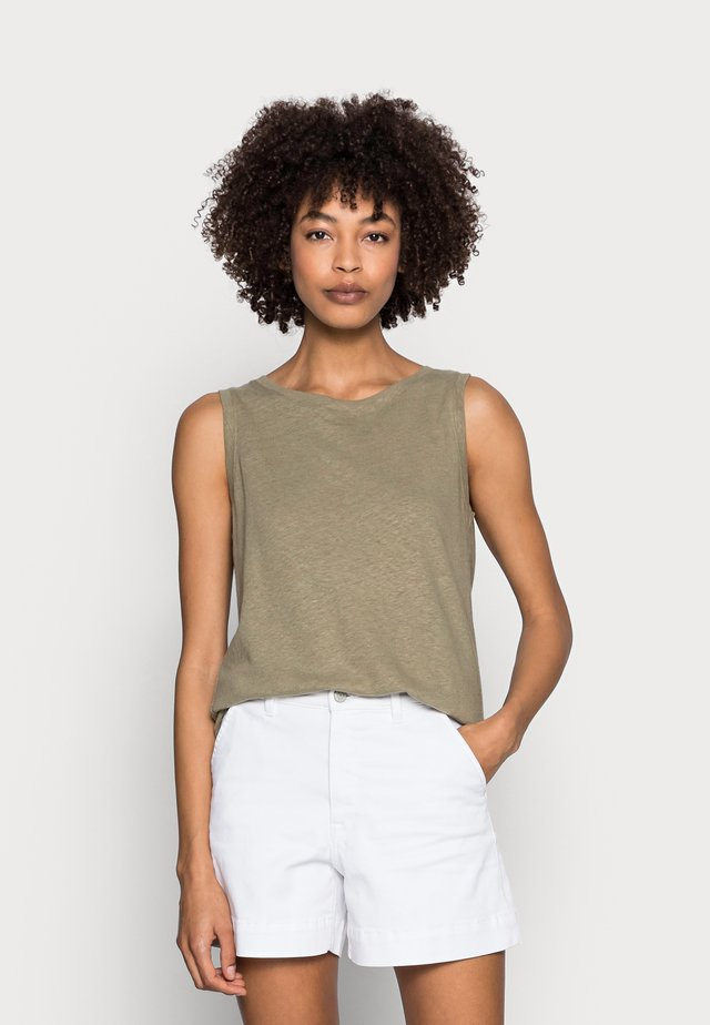 Top - light khaki