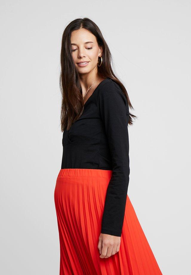 TIMEA - Långärmad tröja - black