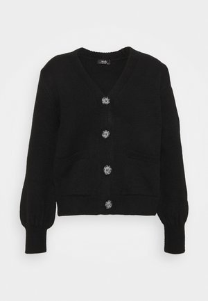 BOXY - Cardigan - black