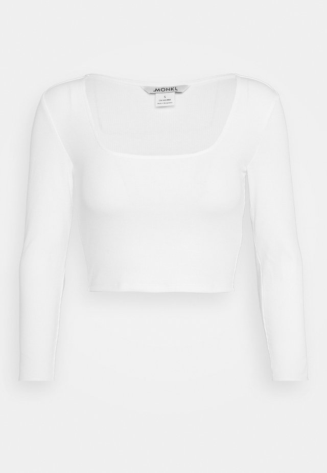 ALBA  - Long sleeved top - white light