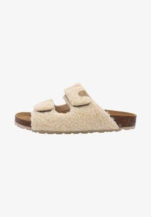Pantoffels - beige