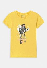 Blue Seven - SMALL GIRLS ZEBRA GIRAFFE 3 PACK - T-shirt con stampa - multi-coloured - 1